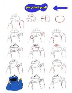 كيفية رسم كعكي