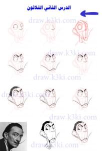 كيف ترسم الكاريكاتير