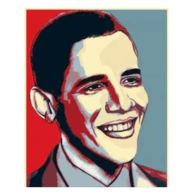 كيفية رسم اوباما