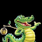 تلوين تمساح القاطور والتمساح العادي