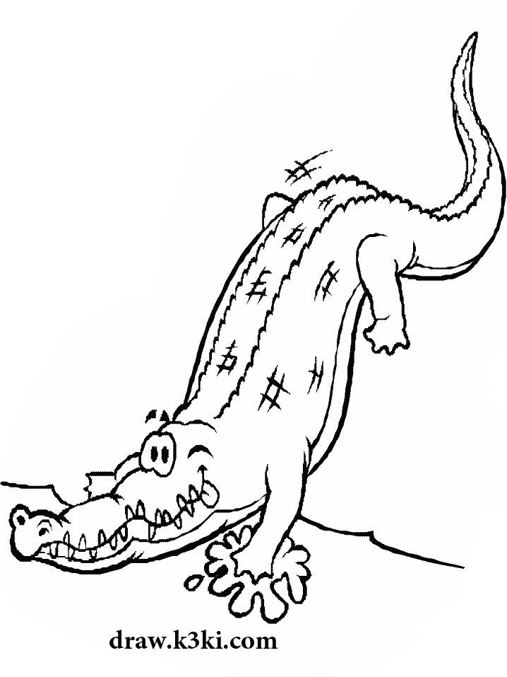 تلوين تمساح القاطور