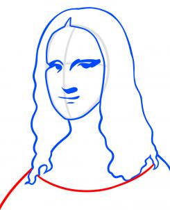 من رسم لوحة الموناليزا