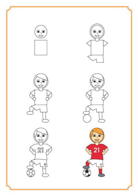 كيف تصبح لاعب كرة القدم
