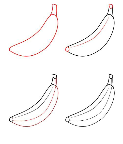 How To Draw A Apple For Kids