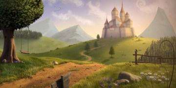تعليم رسم قلعة