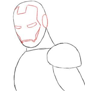 ذتعلم رسم الرجل الحديدي - Iron Man