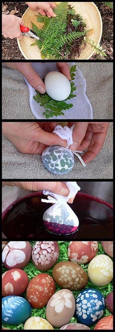 أفكار رائعة جداً لتلوين بيض عيد الفصح