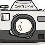 كيفية رسم كاميرا خطوة بخطوة