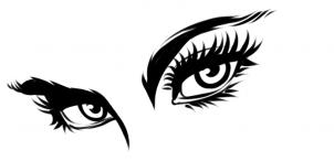 تعلم رسم العيون
