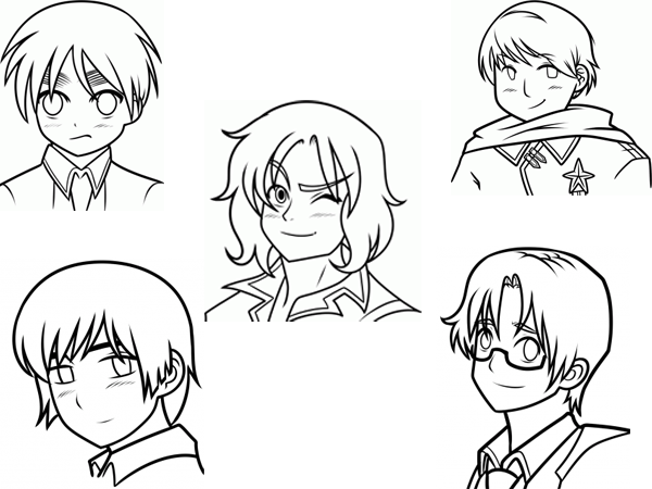 تعلم رسم شخصيات انمي