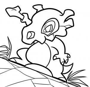 كيفية رسم بوكيمون كوبون