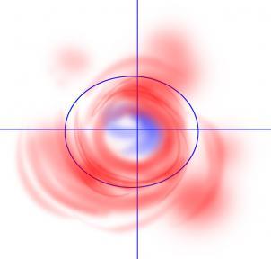 طريقة رسم مجره
