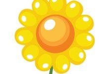 رسم عباد الشمس