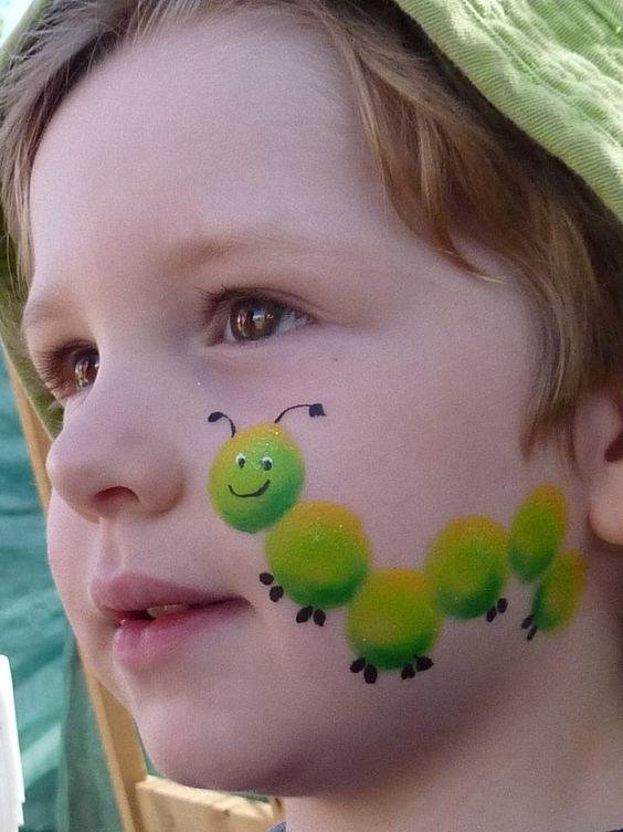 رسم دوده على الوجه