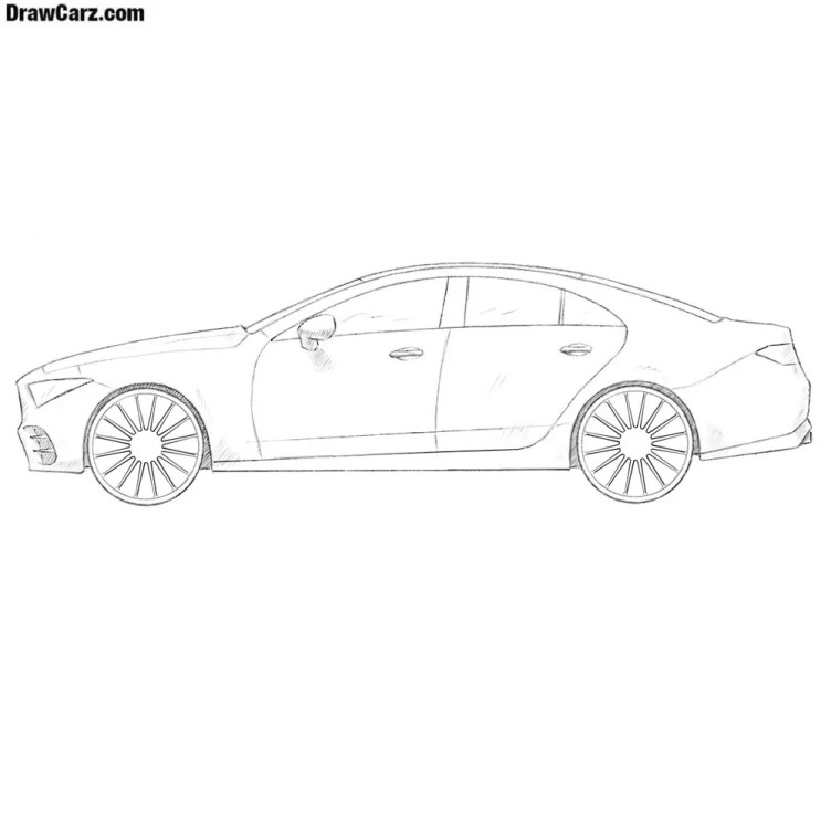 How to Draw a Car   DrawCarz