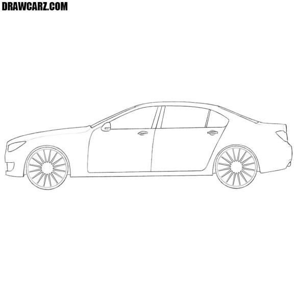 How to Draw a Car Easy | DrawCarz