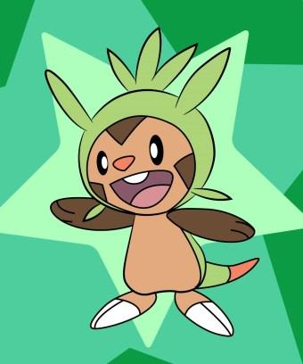 Chespin-Pokemon