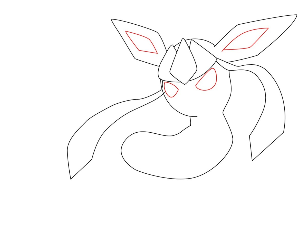 How To Draw Glaceon (5)