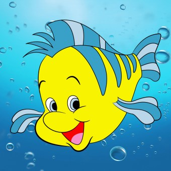 draw-flounder-little-mermaid