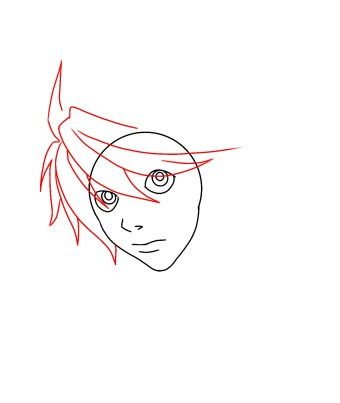How To Draw L From Death Note Step 6