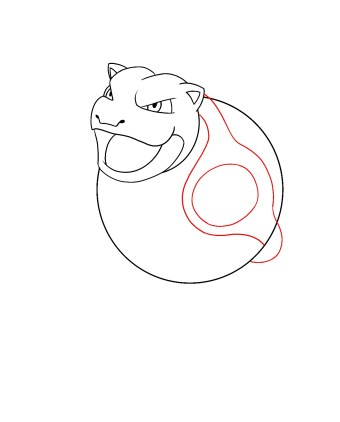 How To Draw Blastoise Step 5