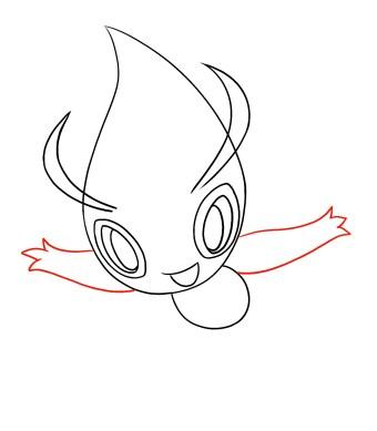 How To Draw Celebi Step 5