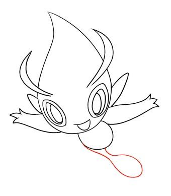 How To Draw Celebi Step 7