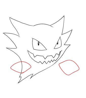 How To Draw Haunter Step 6