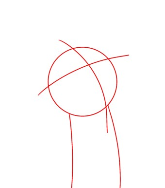 How To Draw Morty Smith Step 1