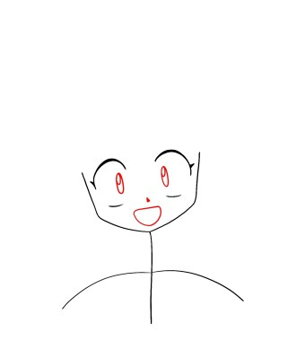 How To Draw Shippo Step 3