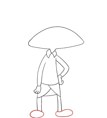 How To Draw Hey Arnold Step 6