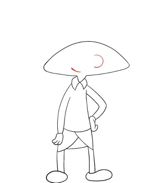 How To Draw Hey Arnold Step 7