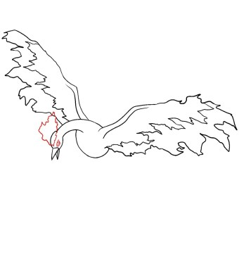 How To Draw Moltres Step 6