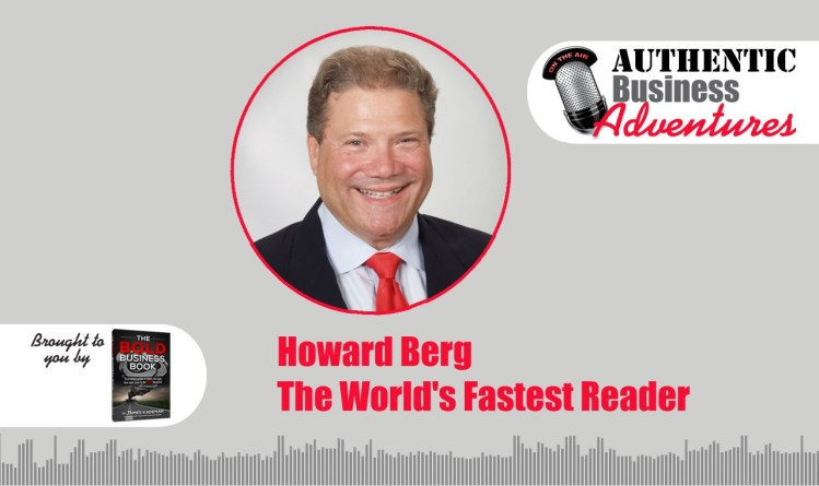 Howard Berg, the world's fastest reader
