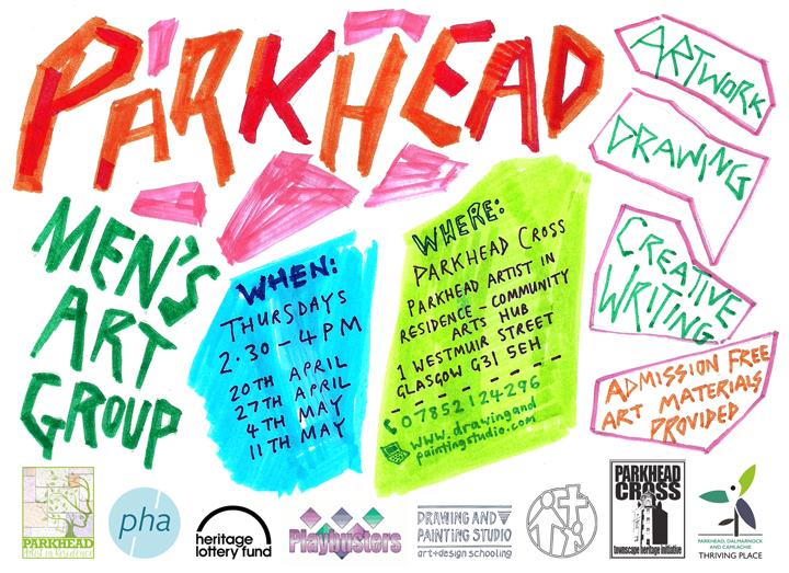 Parkhead Men's Art Group, April-May 2017