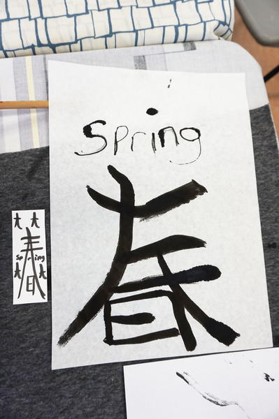 Spring experiments and lots of tensho!