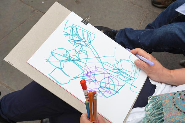 Summer fun creative drawings in Glasgow