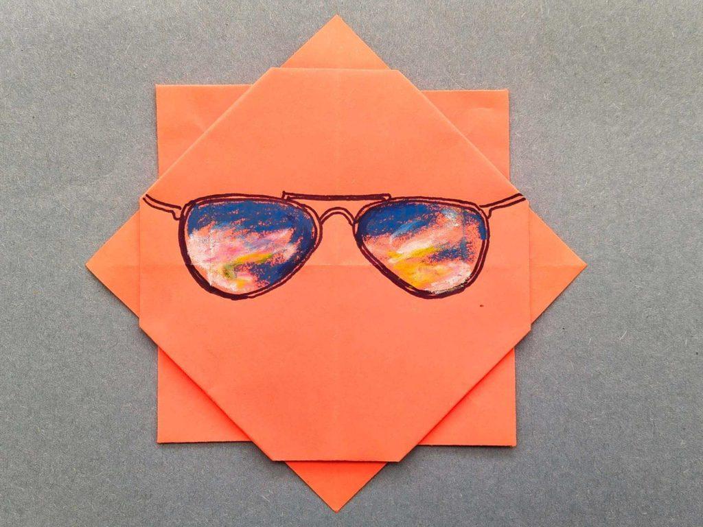 Create your origami sunshine