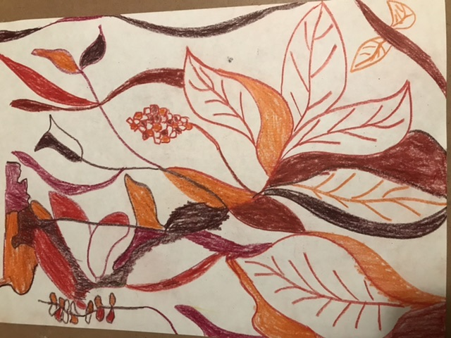 Relaxing and immersing ourselves in autumnal lines