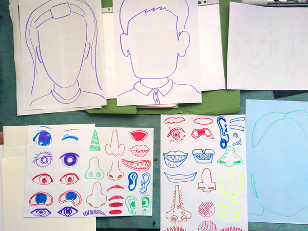 Summery art groups - patterns, colour and lucky laugh!
