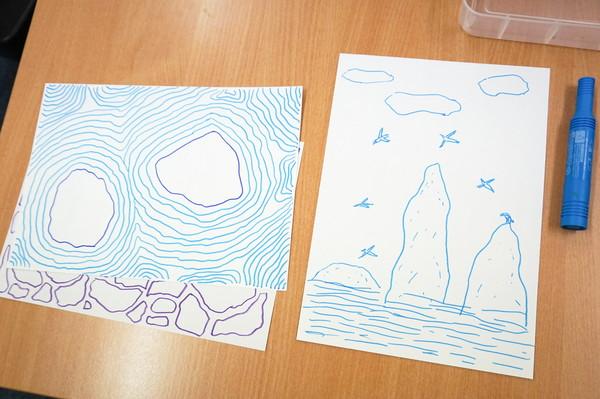 Expansive vistas, soaring gannets, flying marks