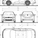 Vw Blueprints Download Free Blueprint For 3d Modeling