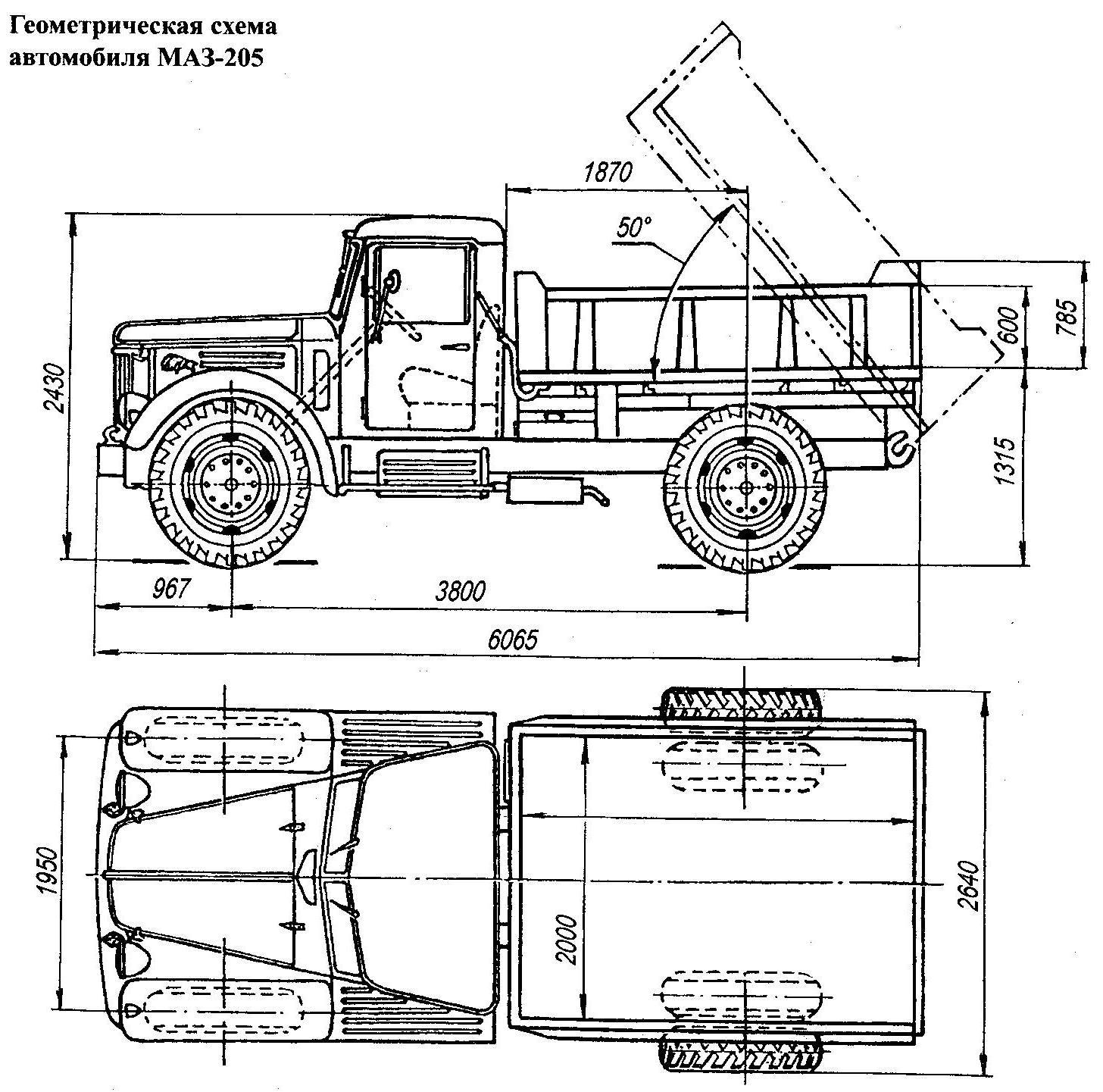 Maz 205 Blueprint