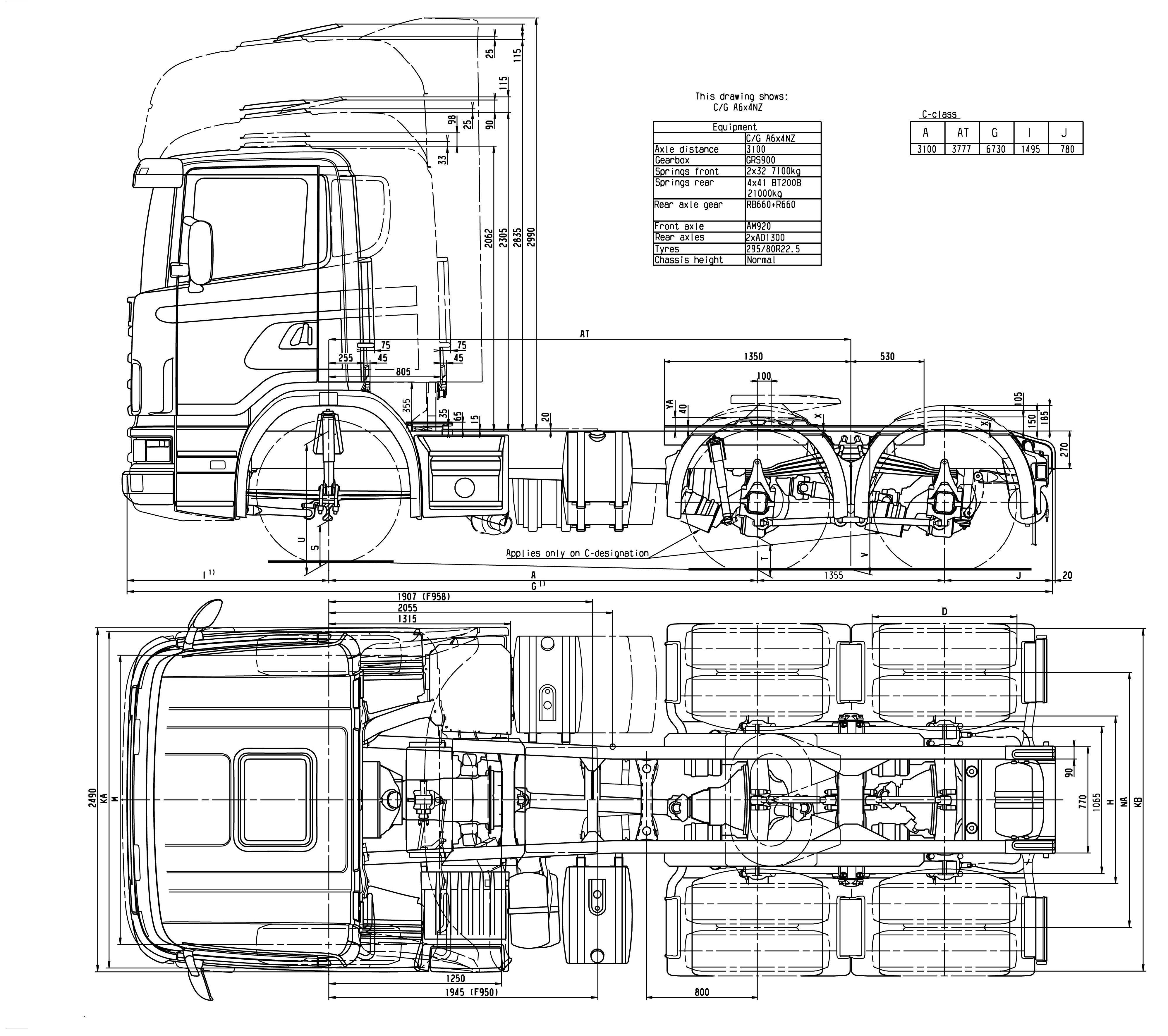 Daf 95xf 95 Xf Truck Lorry Wagon Wiring Electrical Diagram