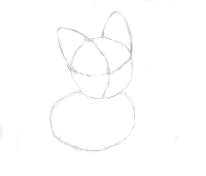 ears-corgi kawaii