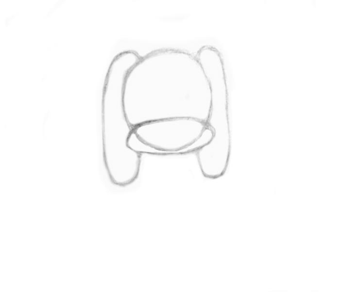 two ears-shape-cocker spaniel