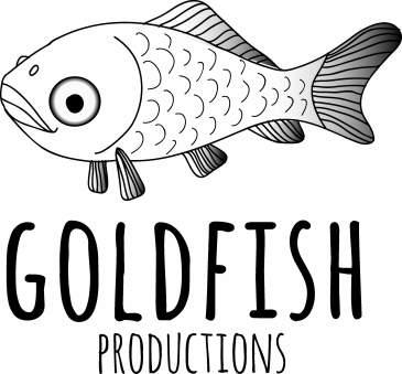 Logo for Goldfish Productions, 2013
