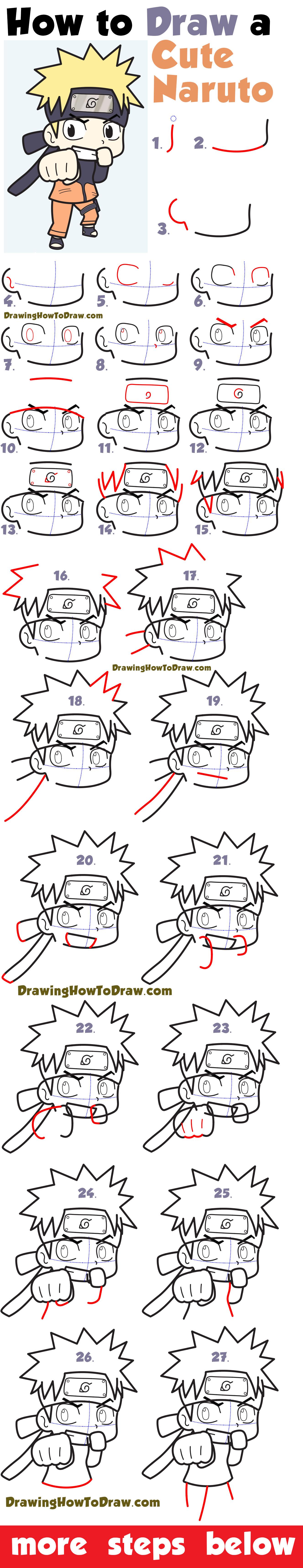 Chibi Naruto Drawing Easy Novocom Top