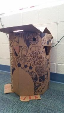 Cardboard Penguin 2