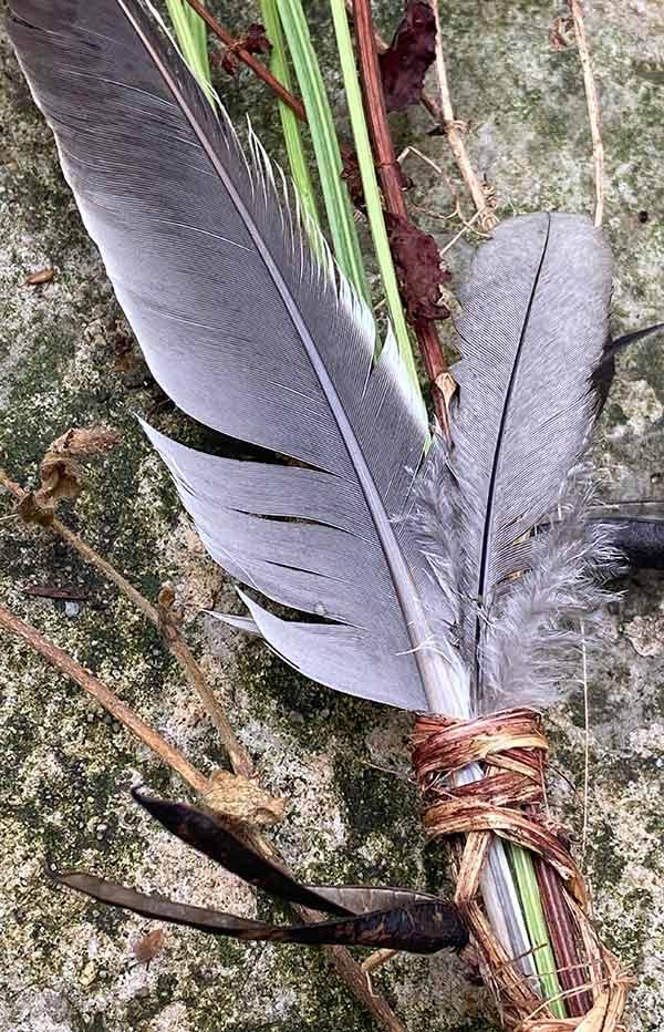 Meadow Totem by Victoria Burton-Davey